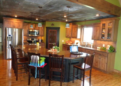 rustic hickory kitchen near Canton