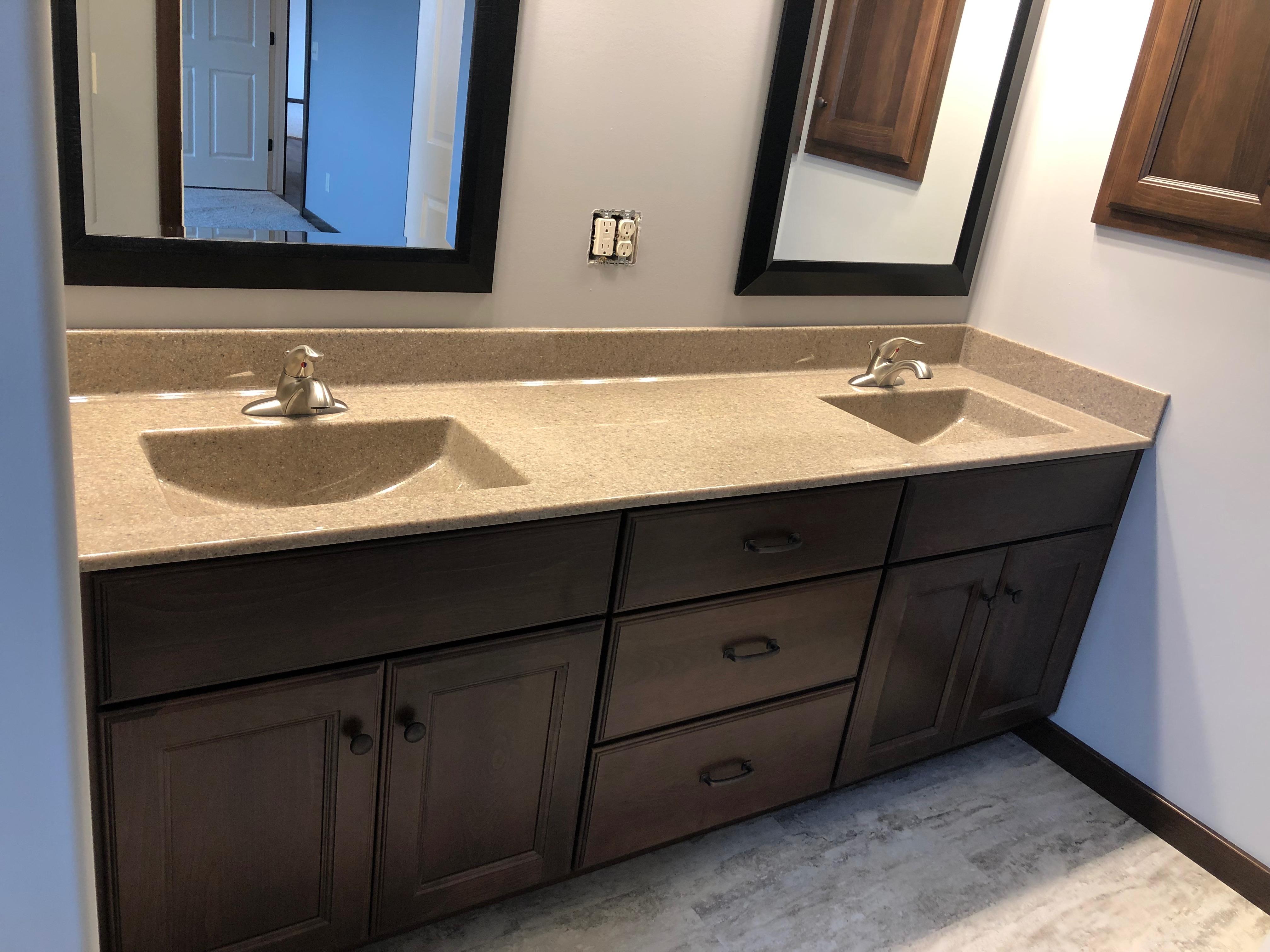 Beech Bathroom Cabinets