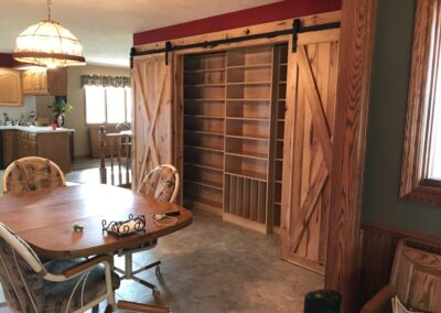 Hickory Barn Door