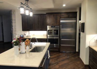 Rustic Hickory Kitchen